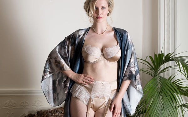 Eleanor Hazel and Octavia luxury full bust lingerie