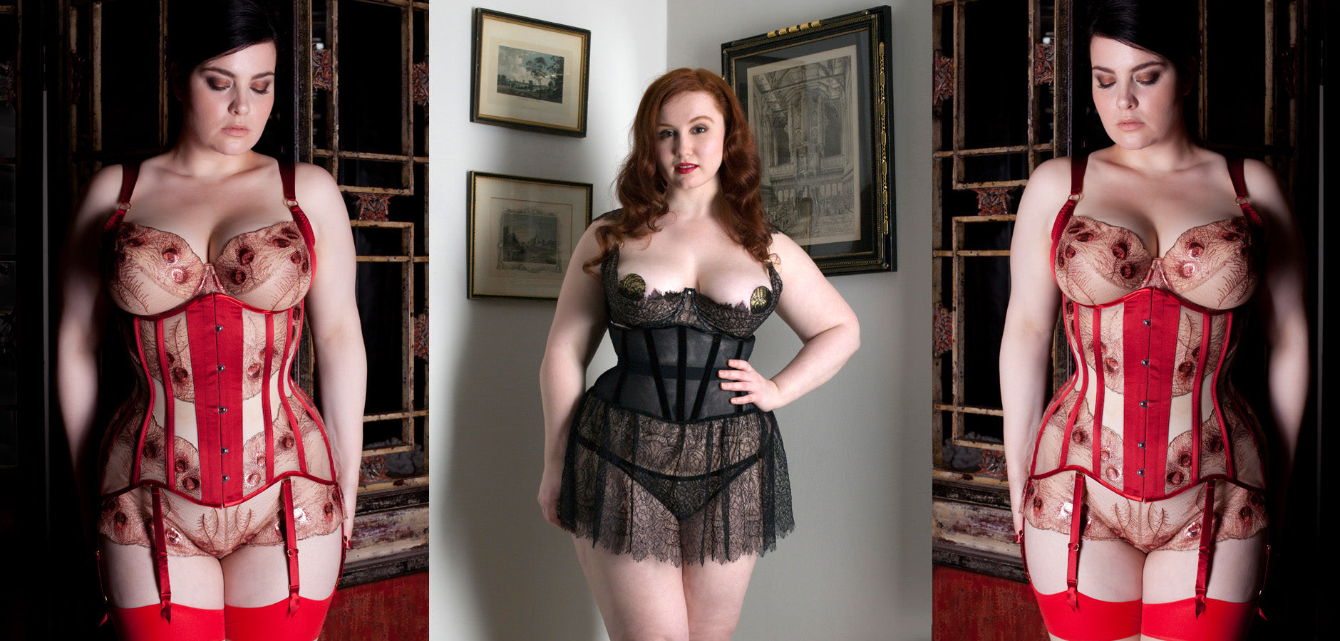 Underbust and bridal corsets