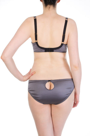 Eleanor Grey silk luxury lingerie
