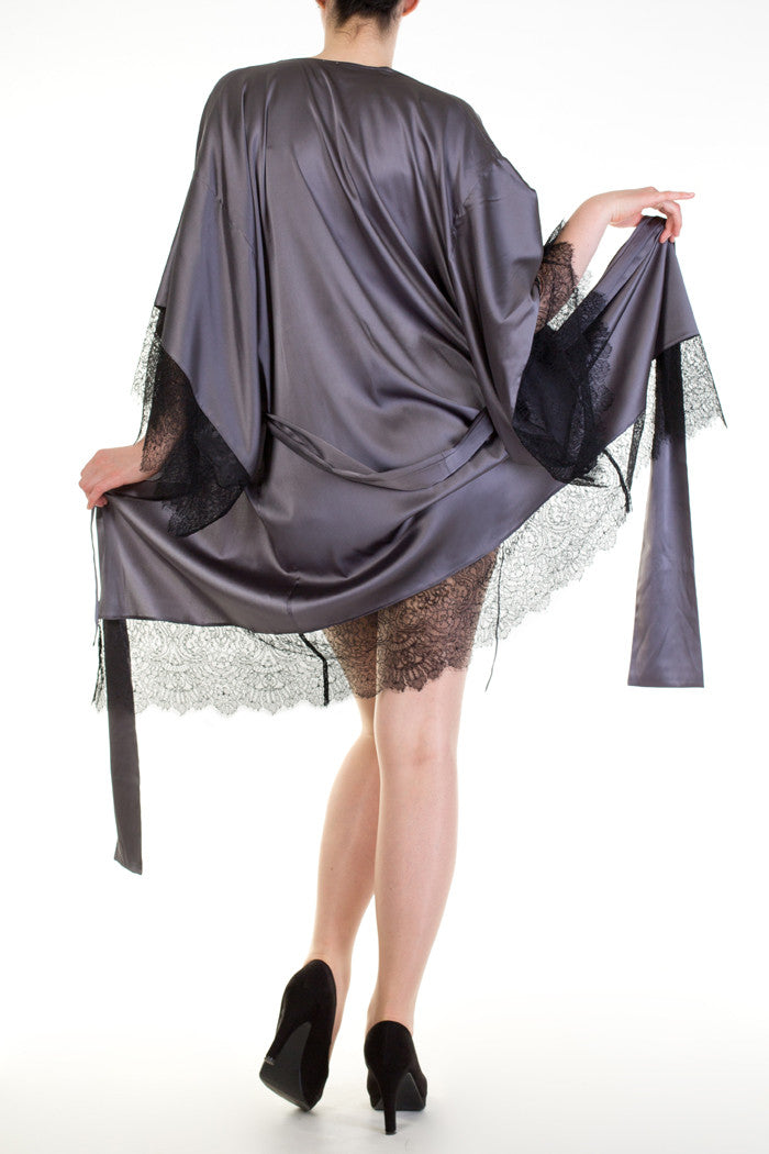 Eleanor Grey Robe