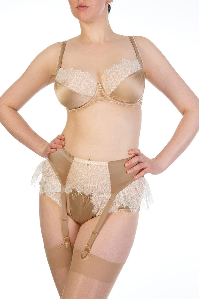 Eleanor Hazel Suspender Belt