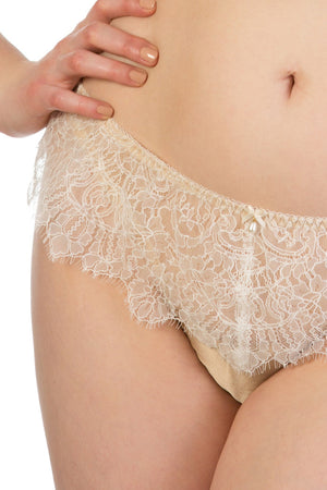 Eleanor Hazel skirted lace thong detail