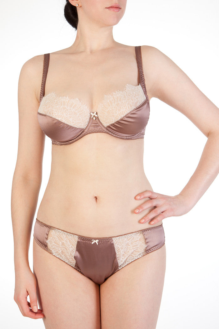 Eleanor Mink Full Cup Bra
