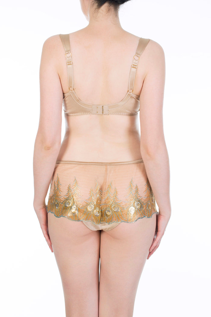 Juliette Hazel Metallic Gold Luxury Lingerie