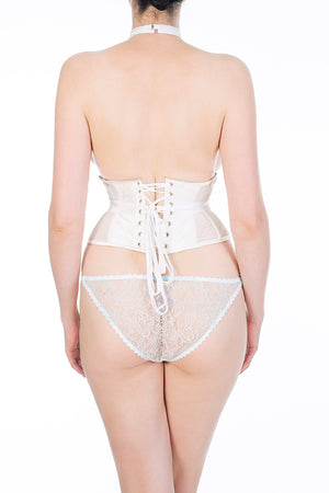 Eira luxury bridal lace knicker and corset