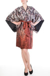 Juliette Red Silk Robe