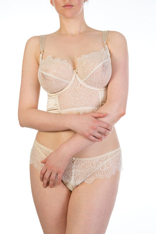 Viola Almond Tie Side Brief