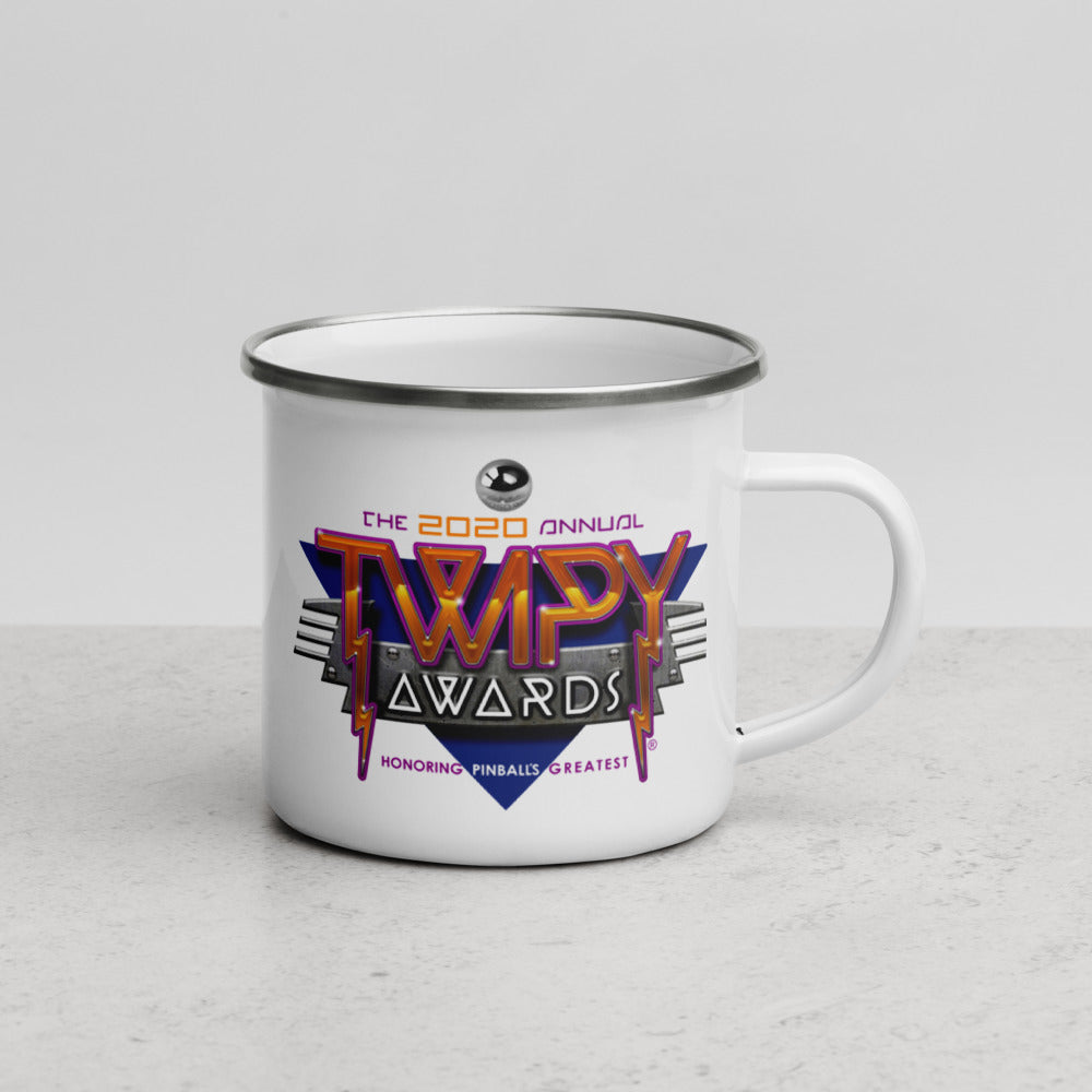 2020 TWIPY Awards - Enamel Mug