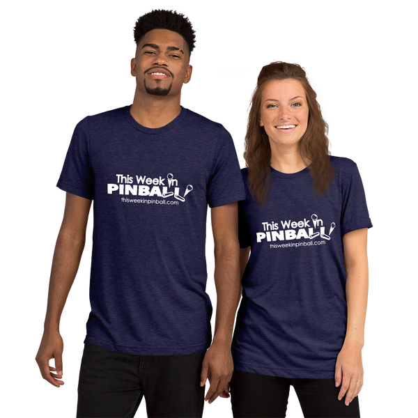 This Week In Pinball Red - Premium Tri-Blend T-Shirt - Silverball Swag
