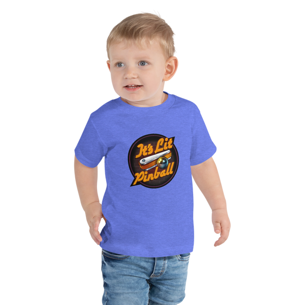 It's Lit Pinball - Toddler T-Shirt - Silverball Swag