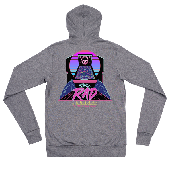 Poor Man's Pinball Podcast RAD - Zip Hoodie