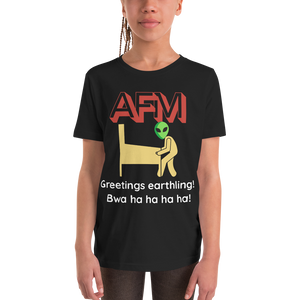 AFM w/ Alien - Customizable Youth T-Shirt