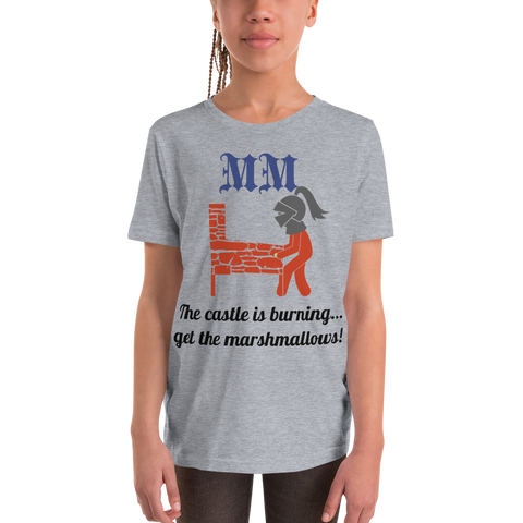 MM w/ Knight - Customizable Youth T-Shirt - Silverball Swag