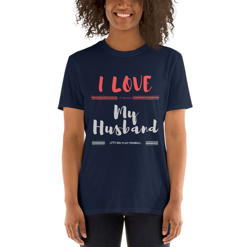 TEST I Love My Husband - Customizable T-Shirt
