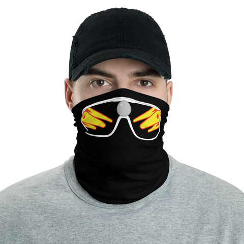 MACHO - BLACK QUARANTINE MASK - Silverball Swag