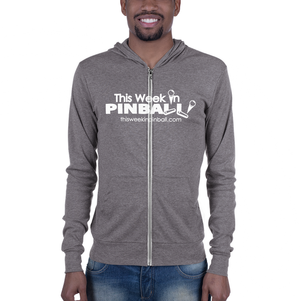 This Week In Pinball - Zip Hoodie