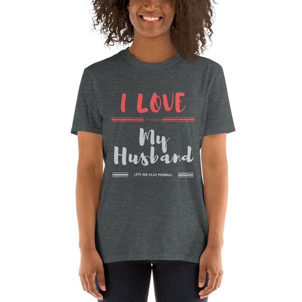 I Love My Husband - Customizable T-Shirt