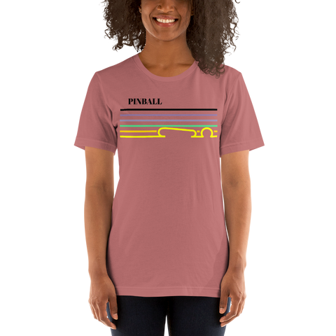 Pinball Lines - Super Soft T-Shirt