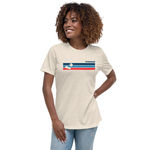 Pinhead Lines - Women's Relaxed T-Shirt