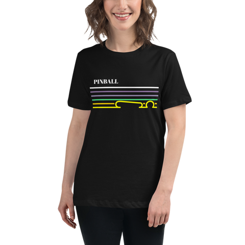 Pinball Lines - Women's Relaxed T-Shirt