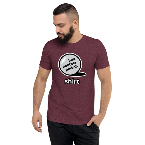 just another pinball - Customizable Premium T-shirt - Silverball Swag