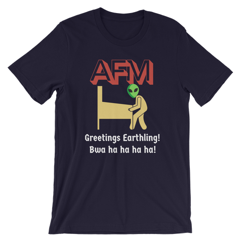 AFM w/ Alien - Customizable T-Shirt