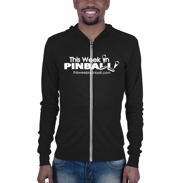 This Week In Pinball - Zip Hoodie - Silverball Swag