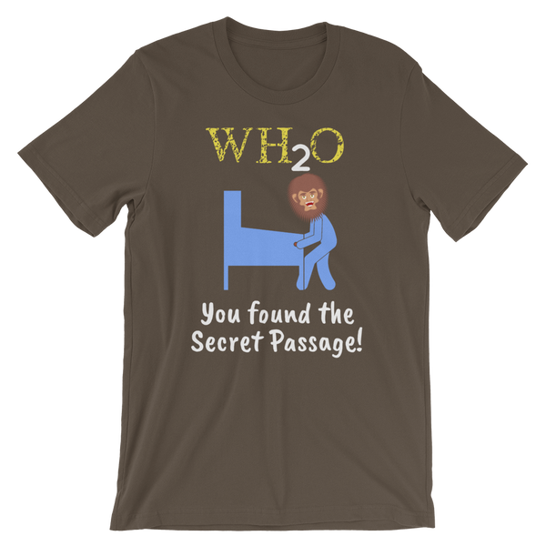 WH2O w/ Big Foot - Customizable T-Shirt - Silverball Swag