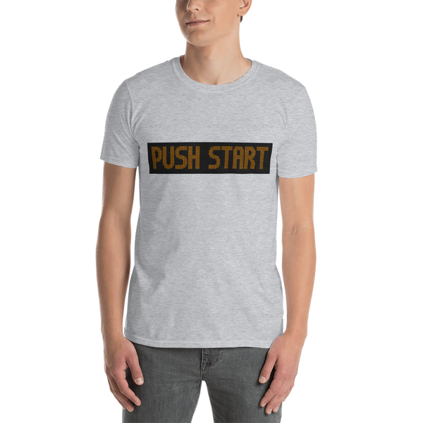 Push Start - Pro T-Shirt - Silverball Swag