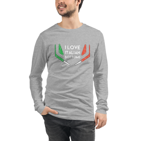 Italian Bottoms - Long Sleeve Tee