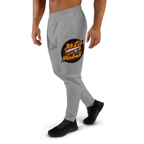 It's Lit Pinball - Men's Joggers - Silverball Swag