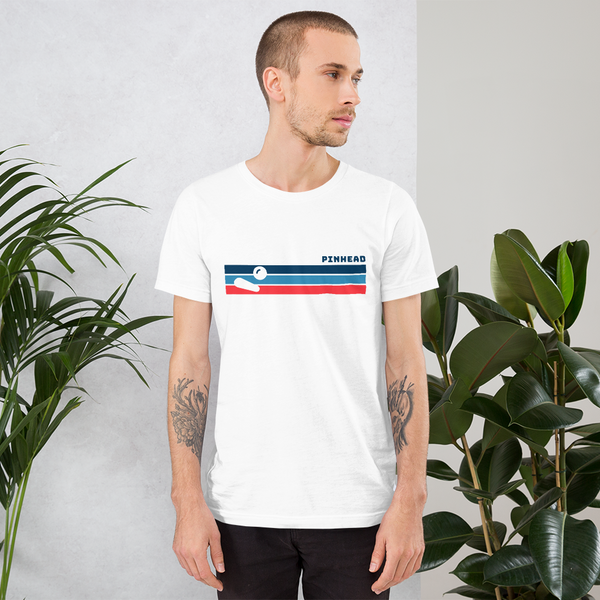 Pinhead Lines - Super Soft Unisex T-Shirt - Silverball Swag