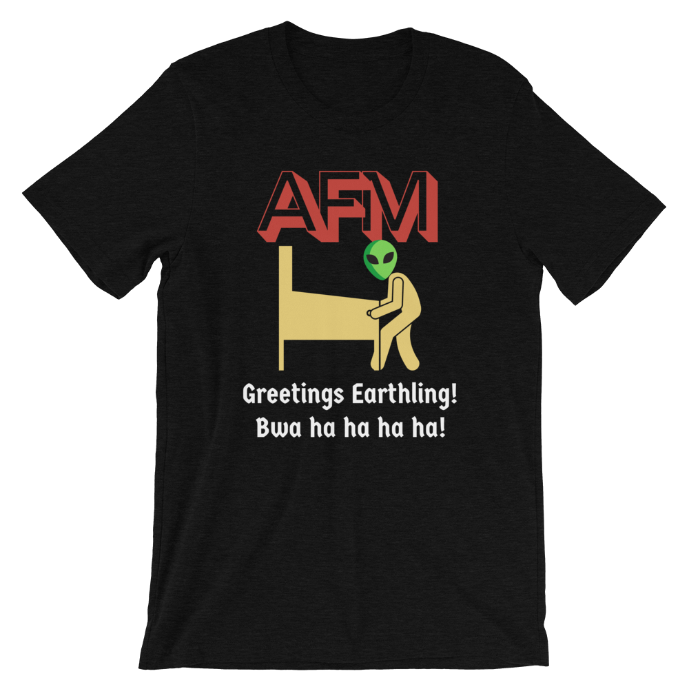 AFM w/ Alien - Customizable T-Shirt - Silverball Swag