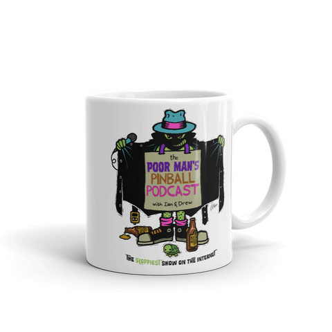 Poor Man's Pinball Podcast Franchi Design - Mug