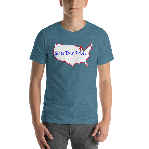 Small Town Pinball - Super Soft T-Shirt