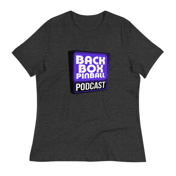 Backbox Pinball Podcast - Women's Relaxed T-Shirt