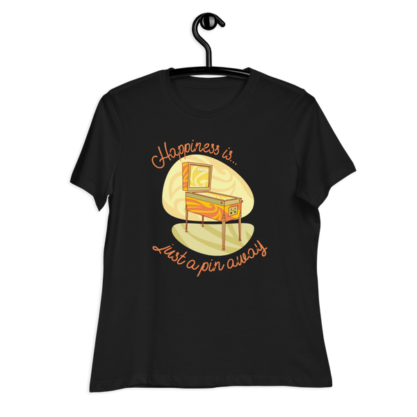 Happiness Is Just A Pin Away - Women's Relaxed T-Shirt