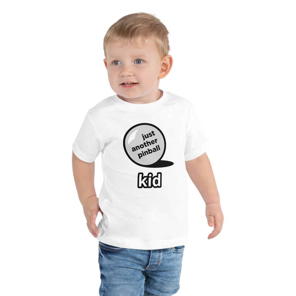 just another pinball - Customizable Toddler Tee - Silverball Swag