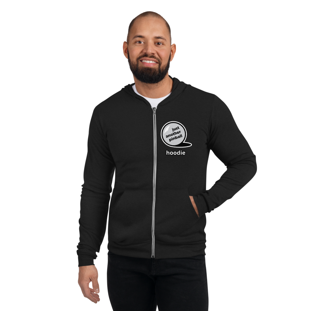 just another pinball - Customizable Zip Hoodie - Silverball Swag