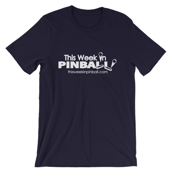 This Week In Pinball - Super Soft T-Shirt - Silverball Swag
