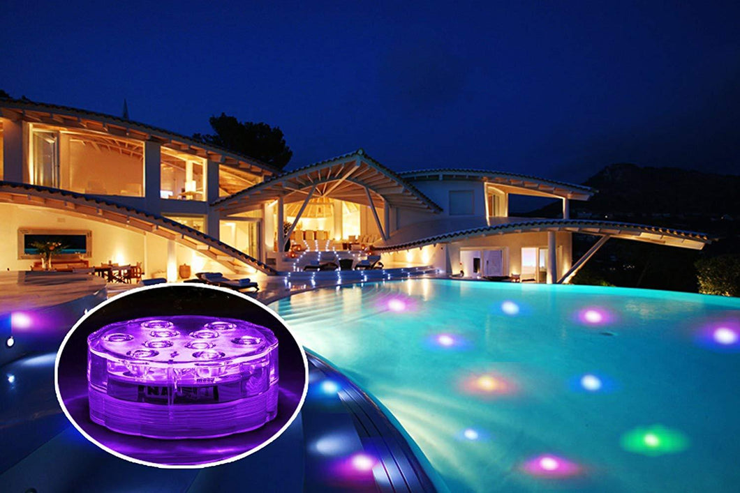 Waterproof and Remote LED Lights