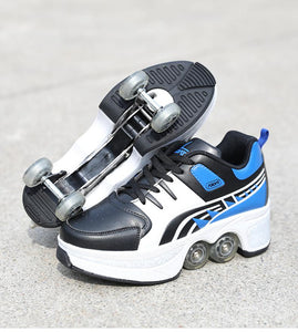 Shape-shifting Roller Skates