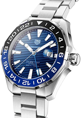 Tag Heuer Aquaracer GMT Blue Dial Men's Watch WAY201T.BA0927
