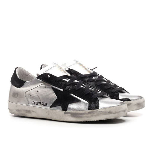 Golden Goose Deluxe Brand Superstar Laminated Upper Heel Womens Sneaker