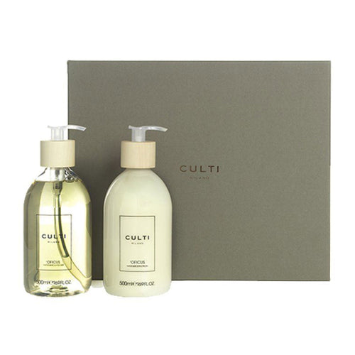 Culti Milano Hand & Body Cream Welcome Officus - (Vanilla, Fig Leaves, Sandal, Musk, Grapefruit)