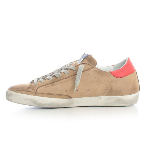 Golden Goose Deluxe Brand Superstar Brown Leather Mens Sneaker G36MS590.T71