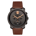 Movado Bold Chronograph Stainless Steel Quartz Movement Grey Dial Men's Watch 3600421