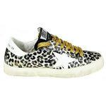 Golden Goose May Leopard Print Rubber Women's Sneakers G32WS127H.H2