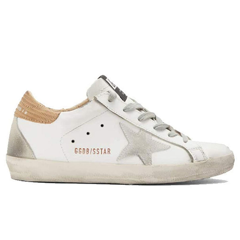Golden Goose Deluxe Brand Superstar Women's White Sneakers Leather Rubber Sole G36WS590.S78