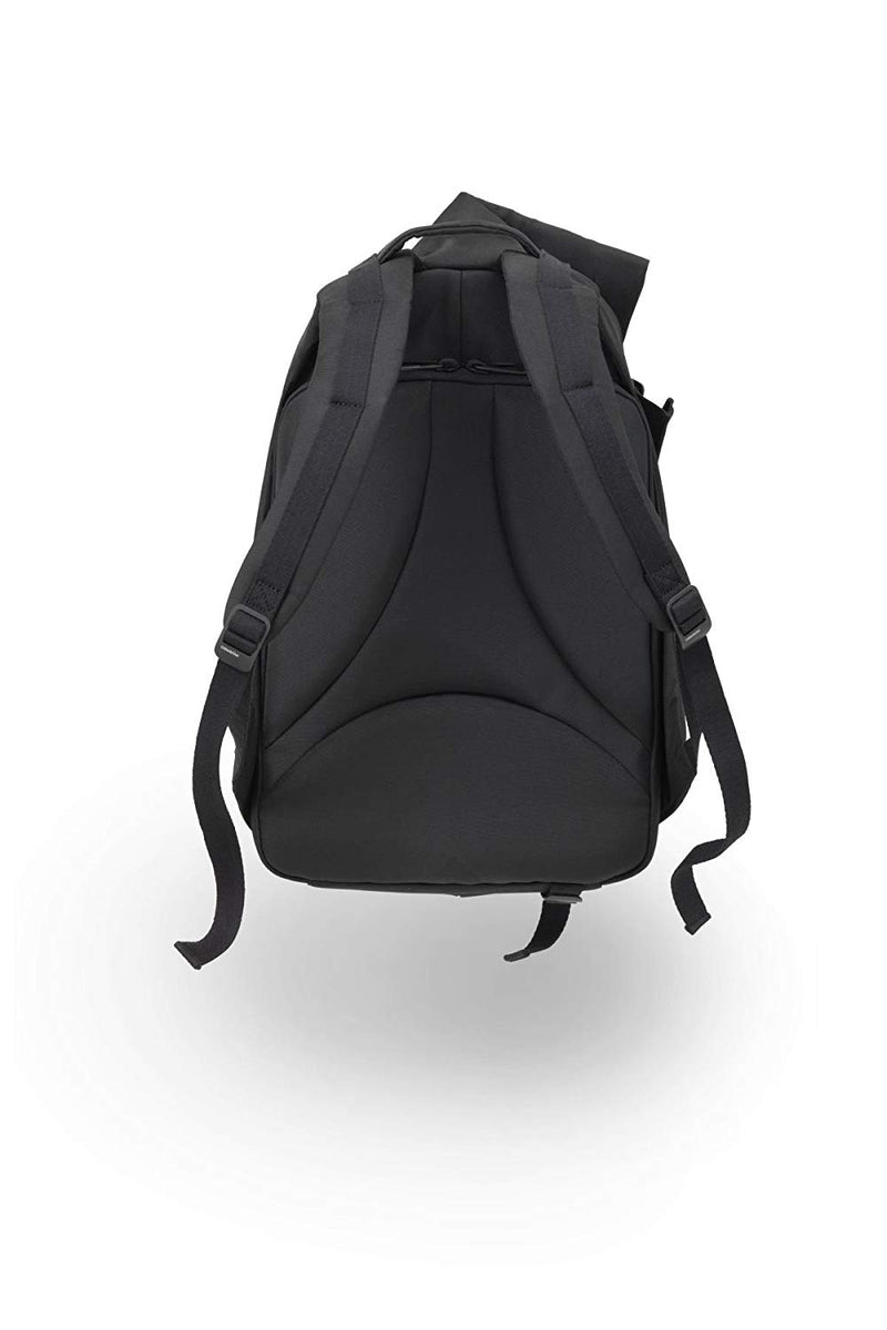 Cote et Ciel Men's Isar Large Eco Yarn Wraparound Welded Zip Backpack Black 27700FBS